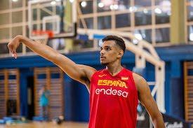 Sebas Sainz, de nuevo con la selección nacional de baloncesto
