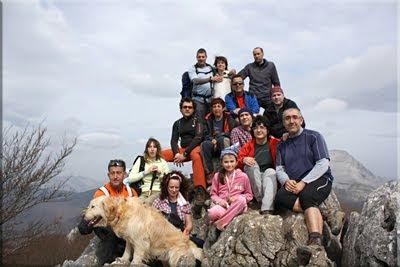 Oriol mendiaren gailurra 1.128 m.  -  2011ko martxoaren 26an