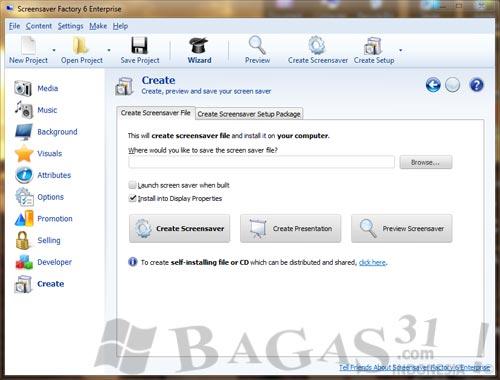 Screensaver Factory 6.03 Enterprise Full Crack 3