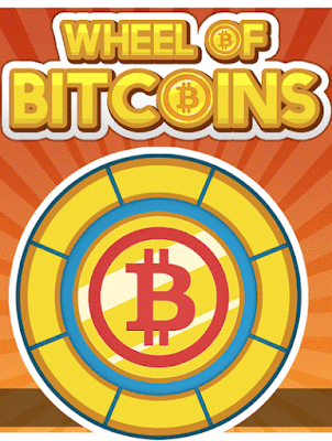 Wheels of bitcoins game