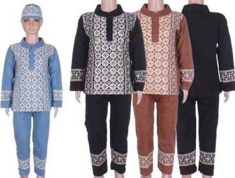 Baju Muslim Anak Laki-Laki yang modis dan syari