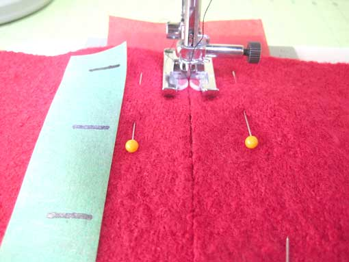 sewing set up