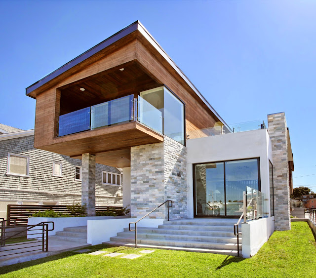 Architectural Contemporary Beach House For Sale With Ocean
