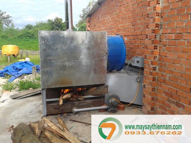 Buồng đối củi cấp nhiệt cho lò vỉ ngang