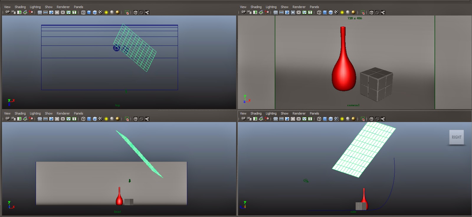 FG Render Setting in Maya 06.1