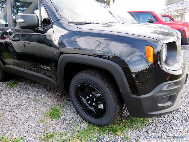 Jeep Renegade 1.8 - mais barato