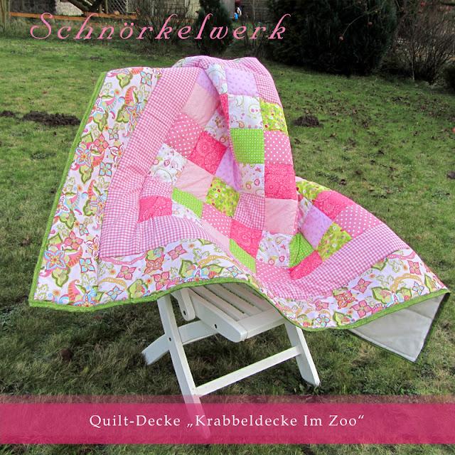 happy quilts by schn rkelwerk quiltdecken f r babys und kinder. Black Bedroom Furniture Sets. Home Design Ideas