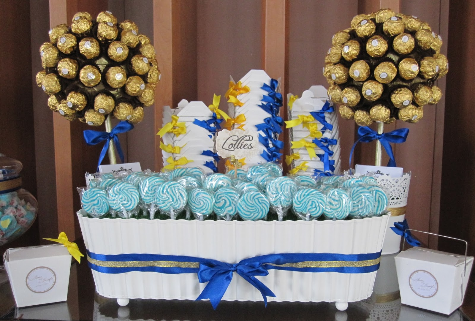 A Reception To Remember Specializes In Candy Buffet
