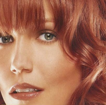 Loreal Light Auburn hair color of 2012