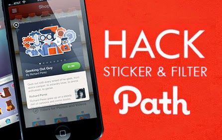 Tutorial Free Sticker dan Filter Aplikasi Path di Android