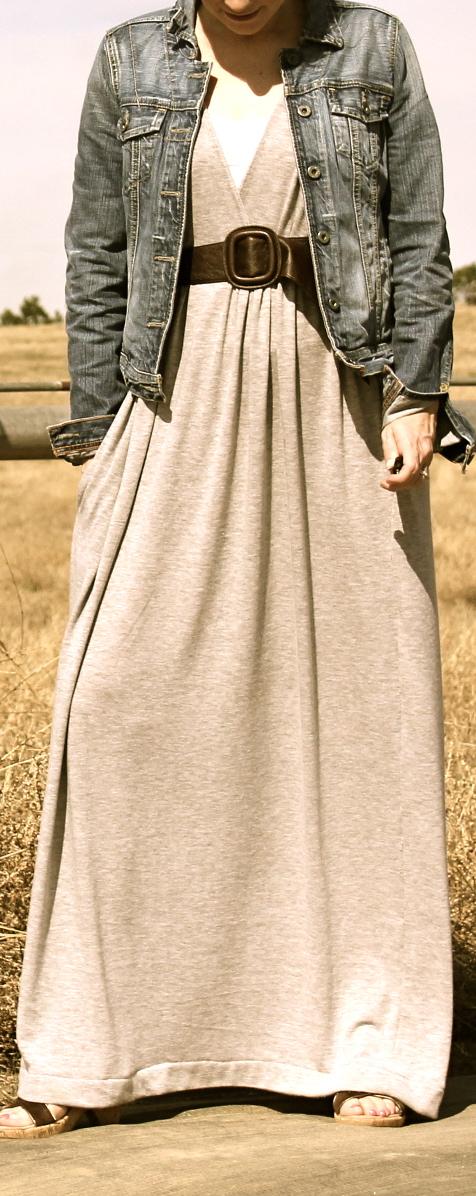 Tropical Wrap Dress maxi dress pattern hack | FREE sewing ...
