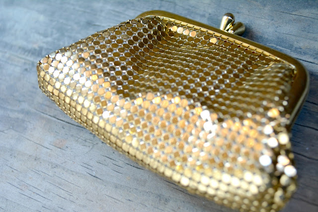 Whiting & Davis mesh purse for sale etsy The Thriftanista Closet