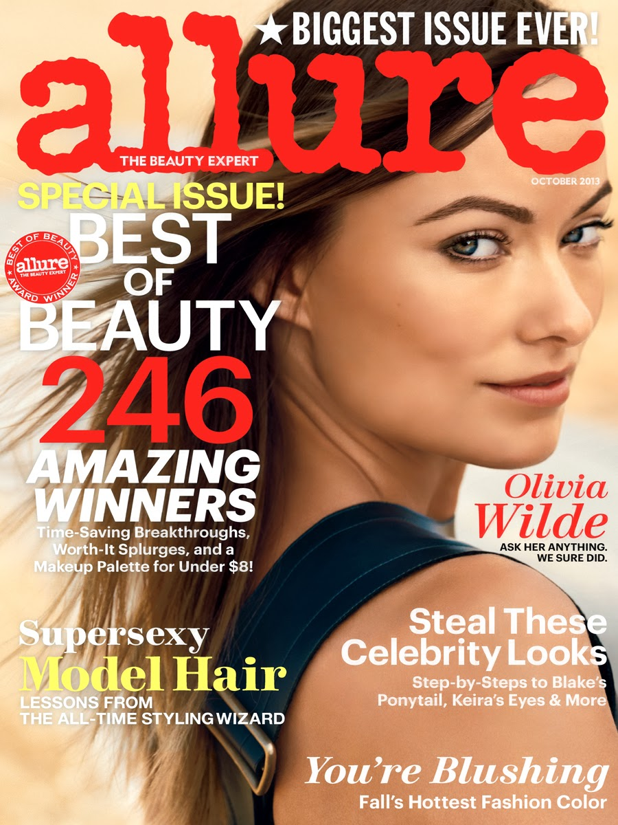Olivia Wilde on allure magazine