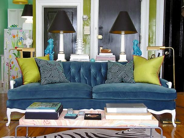 All of irina: store møbler i et lite rom = helt rett
