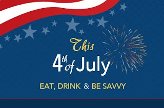 Free Foods &amp; Foods Discounts on July 4th 2012