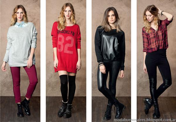 Nucleo Moda otoño invierno 2014. Moda ropa de mujer otoño invierno 2014.