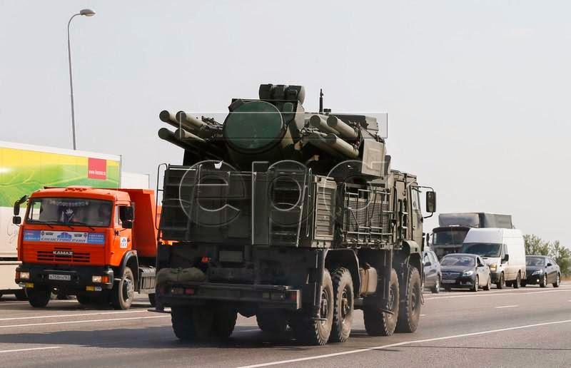 Tunguska AA missile/canon system