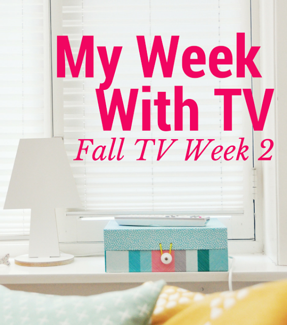 My Week with TV: Fall TV Week 2 2015 Grandfathered, The Grinder, Code Black, Quantico, Blindspot