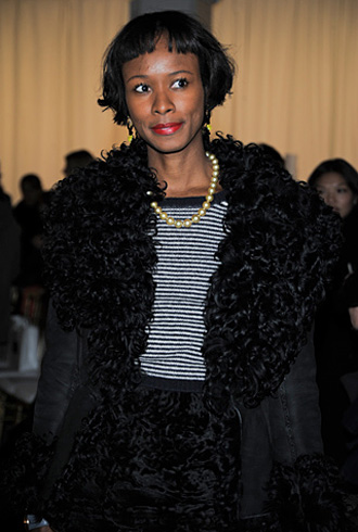 Is an interior designer and fashion designer she is one of my style
