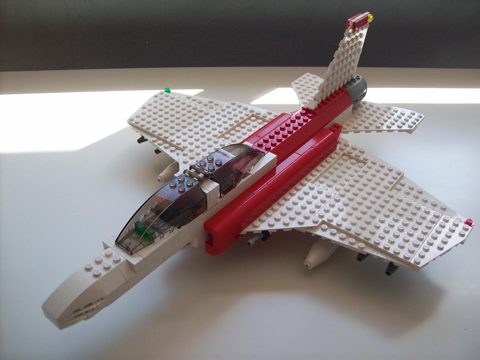 Obsol te les trucs vincentlego avion de chasse lego - Avion de chasse en lego ...
