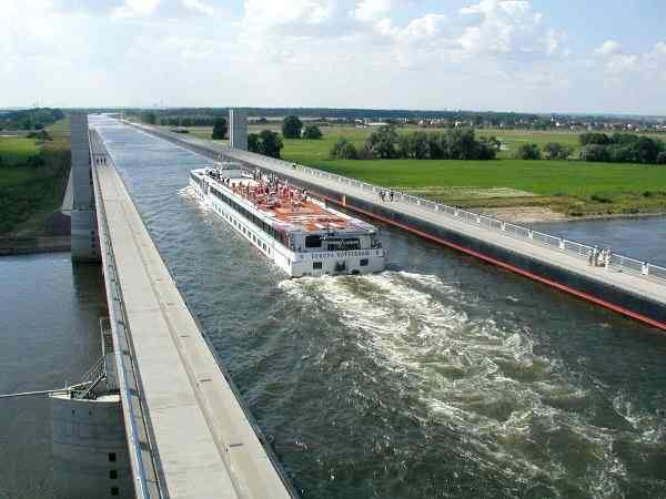 Magdeburg Water Bridge, Germany