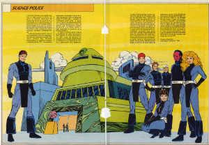 Policia Cientifica (ficha dc comics)