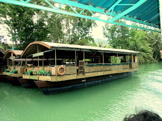 The cruise at Loboc