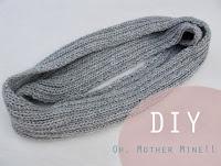 DIY Bufanda Cerrada. Aprender a tejer con tutoriales.