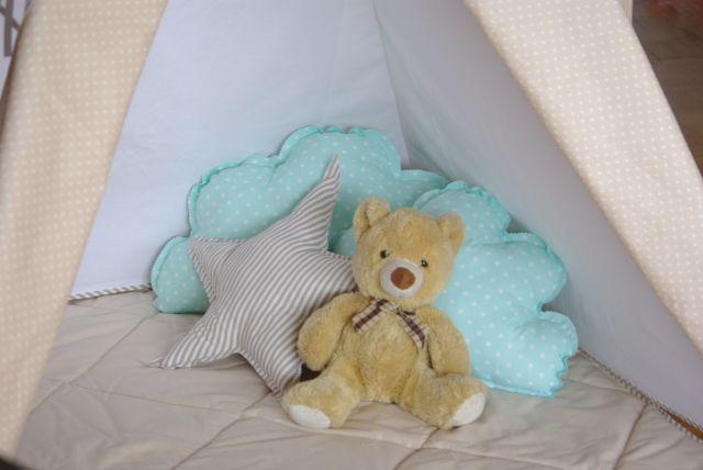 poduszka chmura, poduszka gwiazda, poduszki dla dzieci