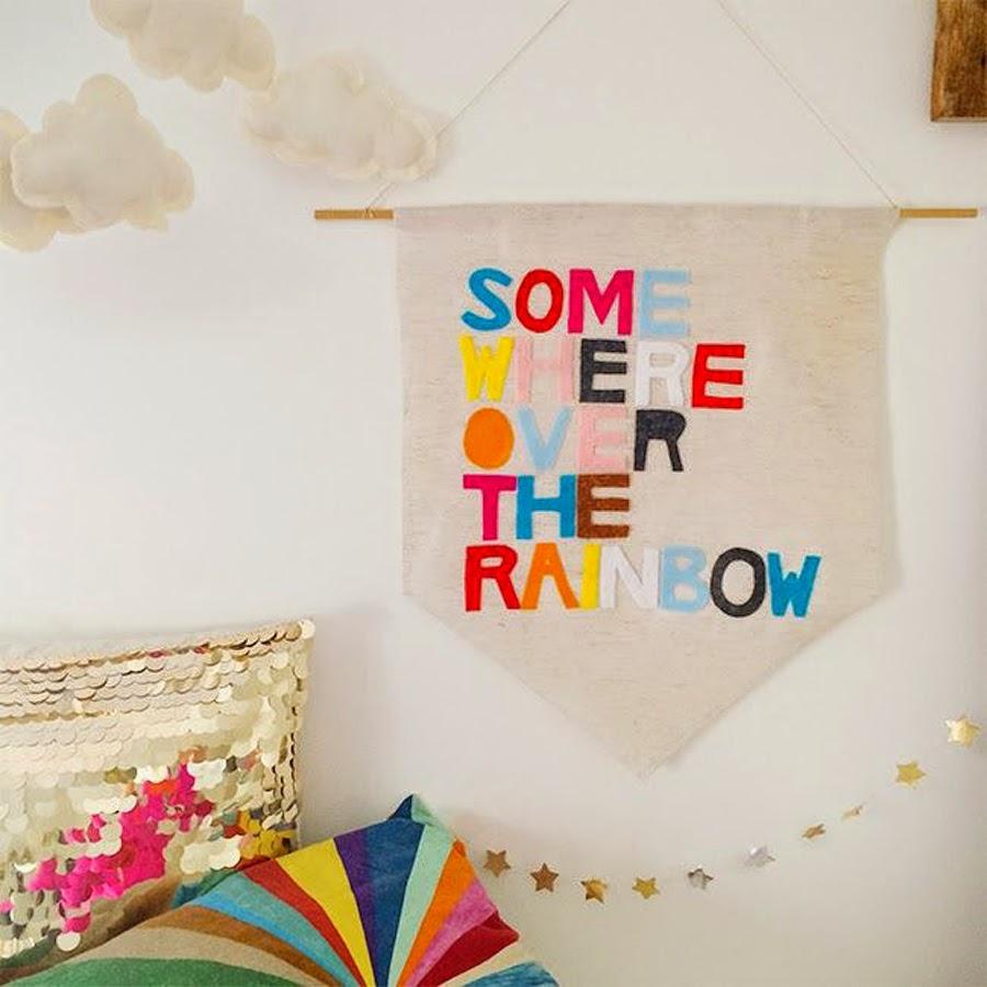 no sew banner diy
