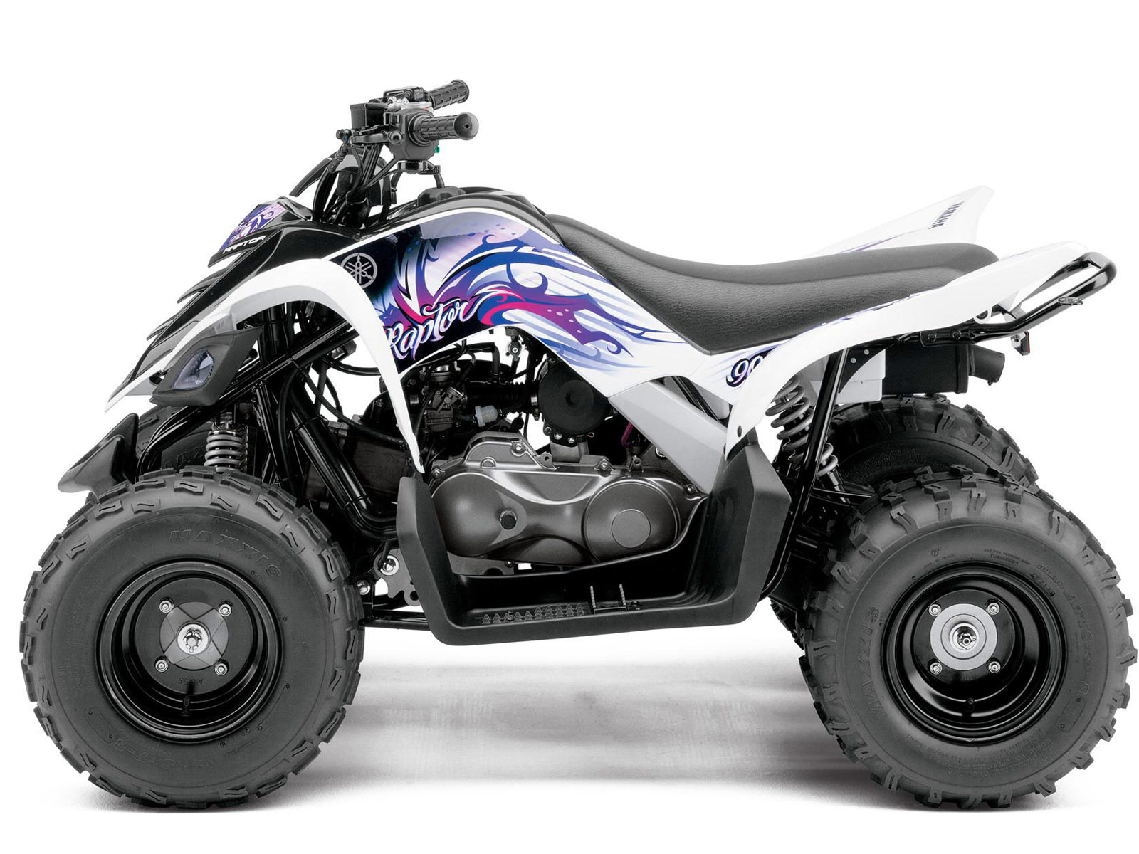 2013 yamaha raptor 90 review specifications and photos. Black Bedroom Furniture Sets. Home Design Ideas