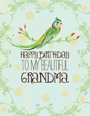 Happy birthday grandma for What to get my grandma for her birthday