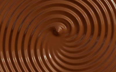 Real chocolate photo