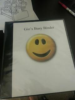 Busy Binder