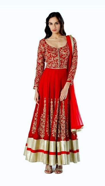 Sonam and Paras Modi Sanskrit Dresses 2014