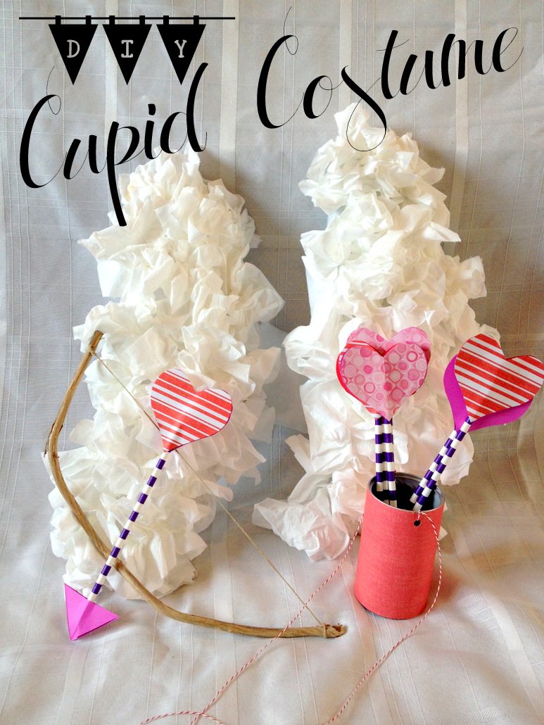 Finding Sunday: DIY Cupid Costume
