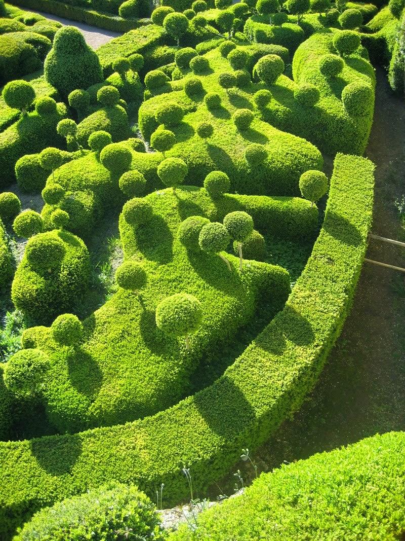 Magnificent Garden Château de Marqueyssac, France