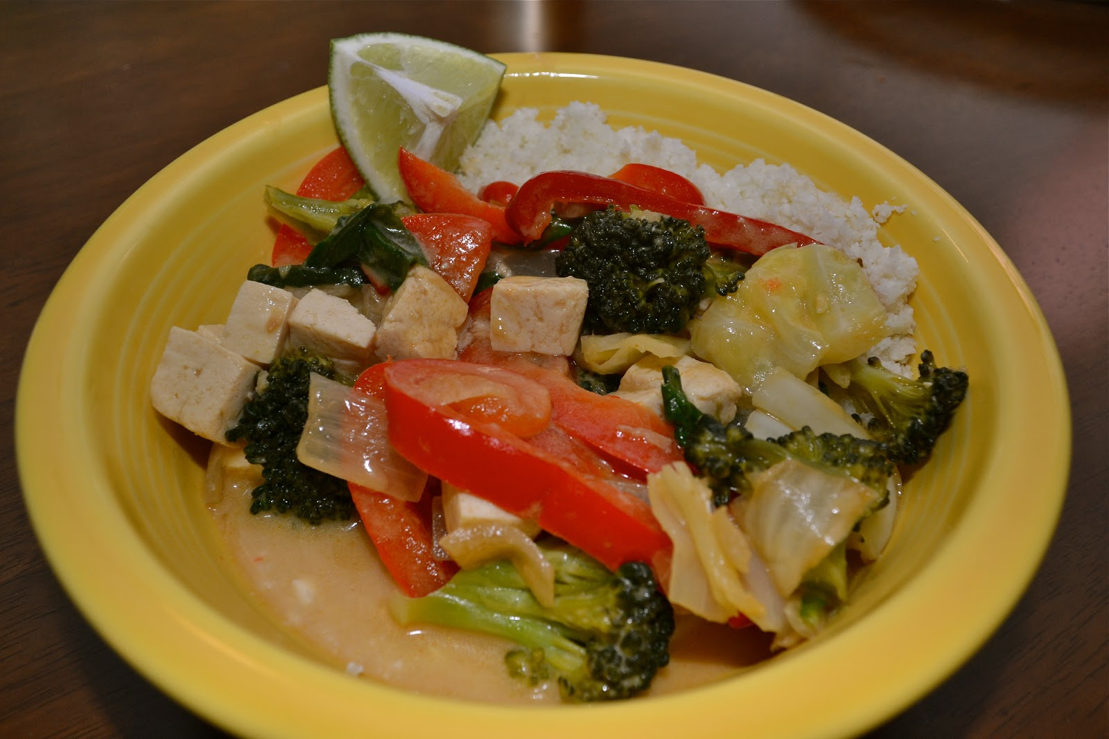 Oishii Treats: Thai Vegetable and Tofu Curry