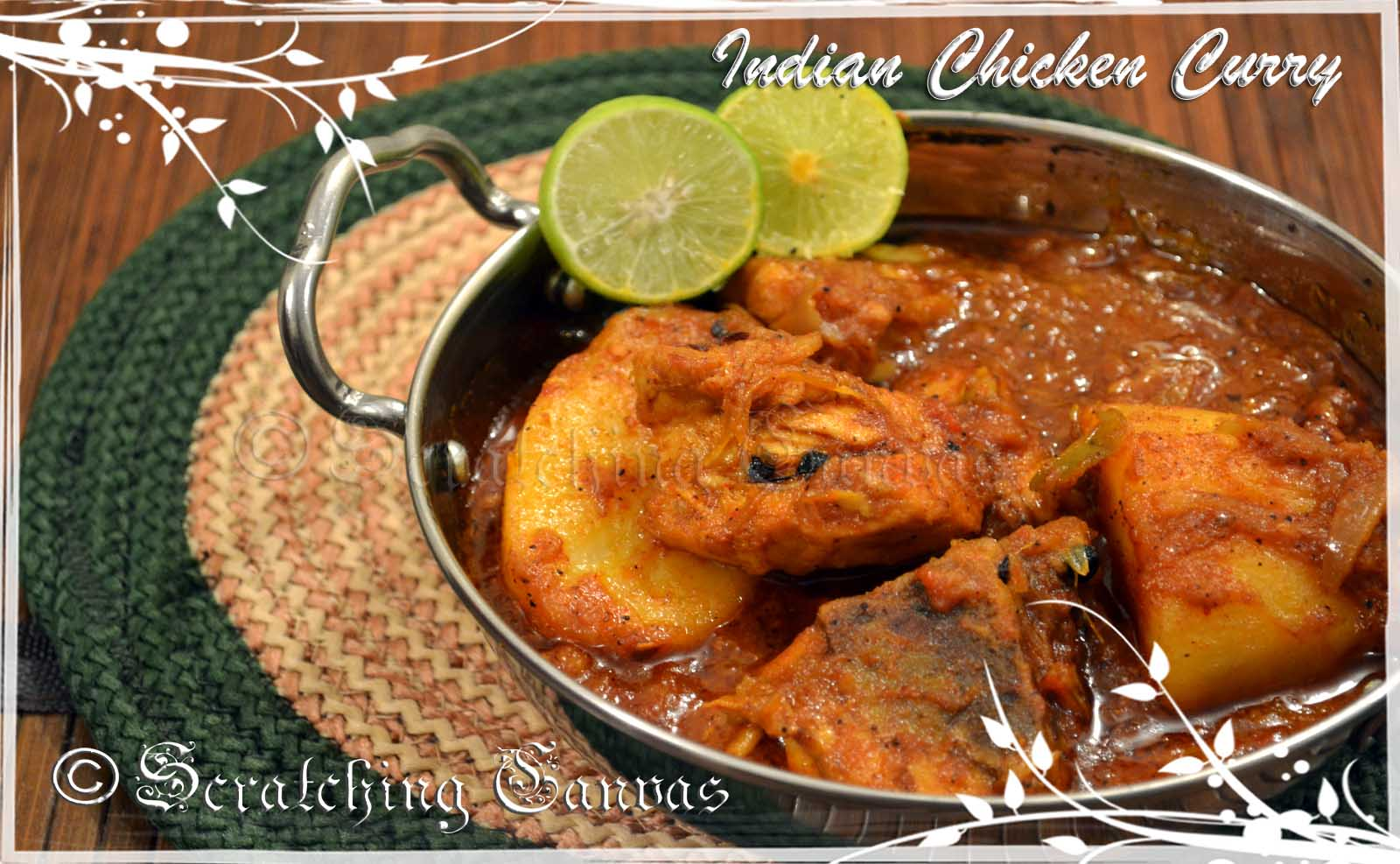 how to cook bengali chicken curry