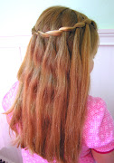 Waterfall Braid. First attempt at the Waterfall Braid. I love this so much.