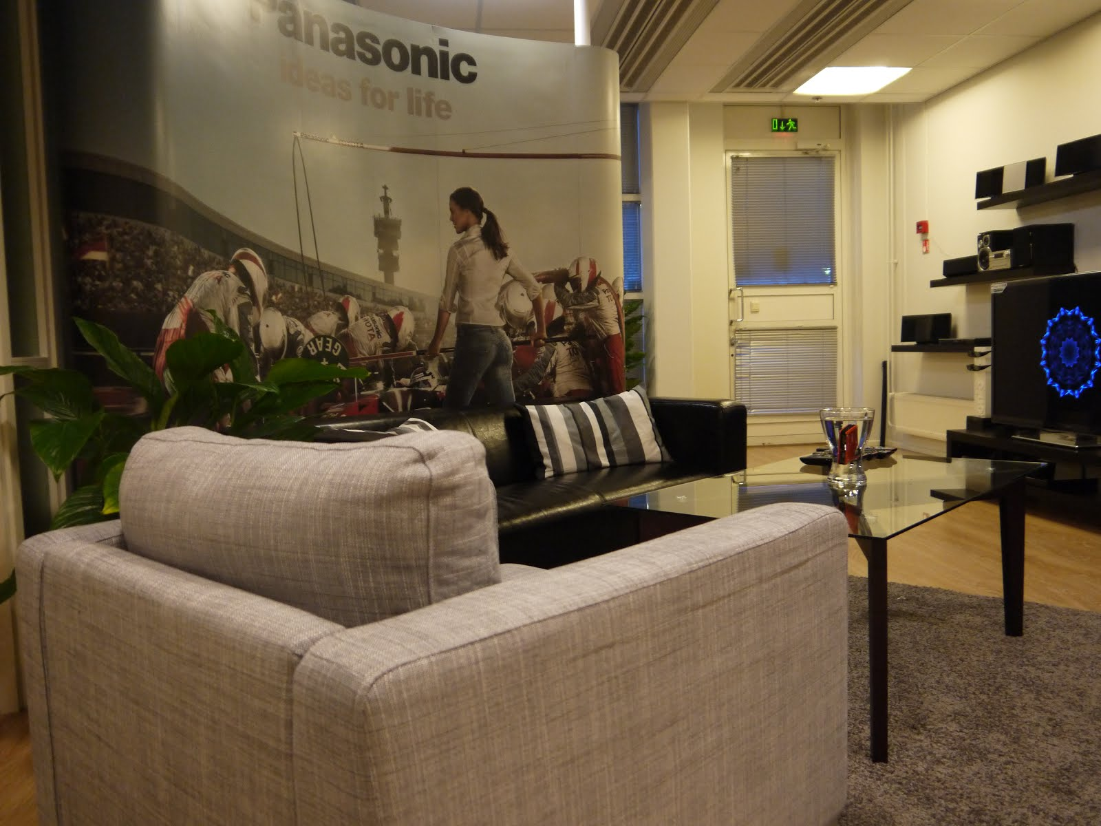 Earlier This Fall I Did An Interior Design Job For Panasonic Finland When Planned And Decorated Panasonics New Showroom Office In Espoo