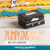 New! Pumpkins Border Maker Cartridge