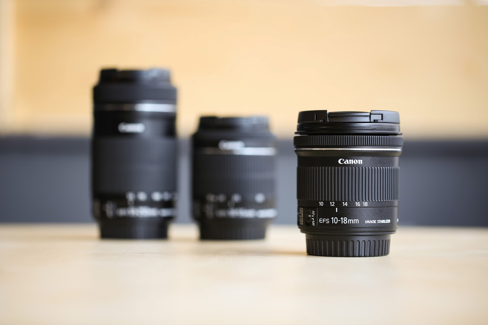 New Canon Ef S 10 18 Is Stm Every Photo Store Eos 70d Lensa 55 Dslr Kit This Lens Also The Last Piece Of Puzzle For A Complete Focal Range Category Now Has Three Lenses That Fit Together Perfectly In