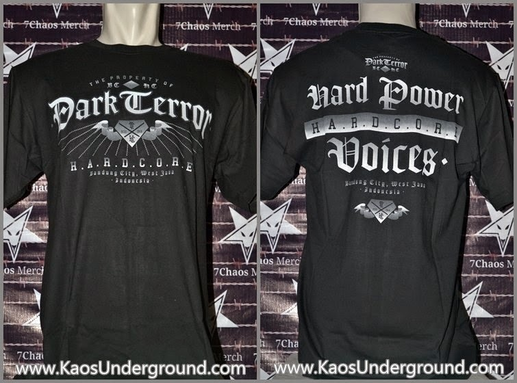 band hardcore dark terror kaosunderground.com 7chaos merch