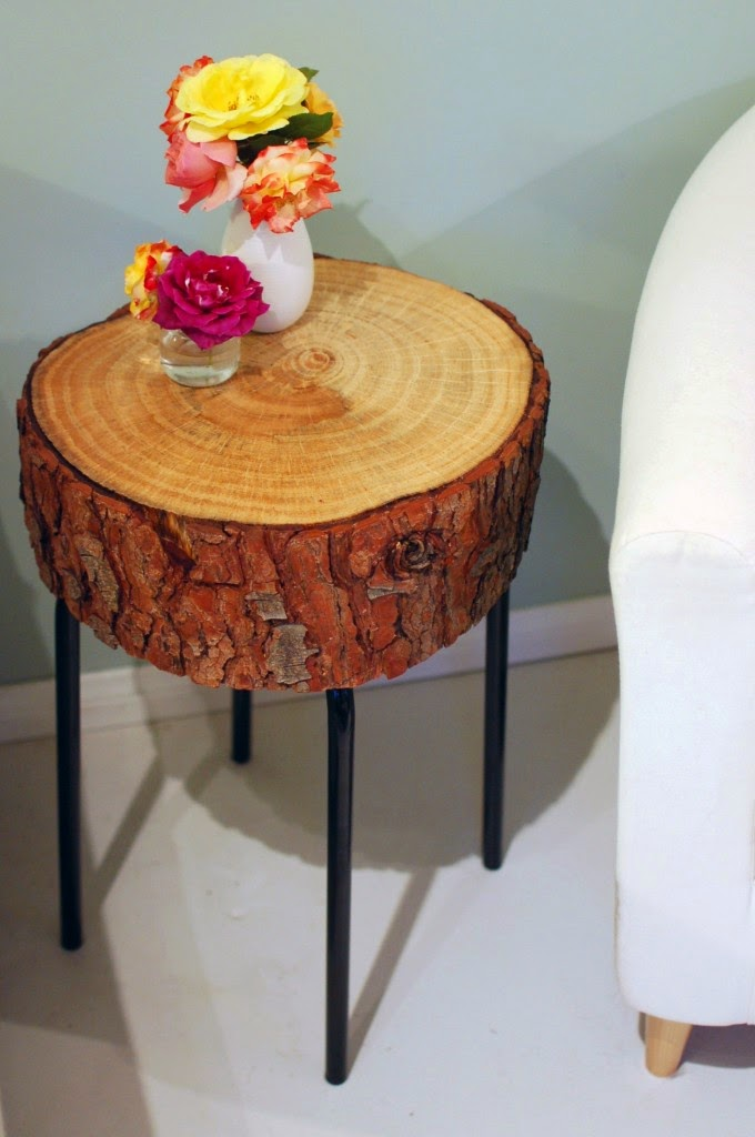Tannenholz als neues Kleid für den Hocker - leichter Tipp zum Möbel Selbermachen