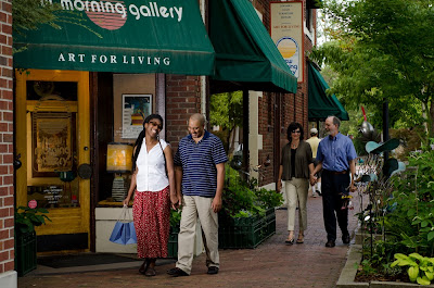 Shopping in historic Biltmore Village
