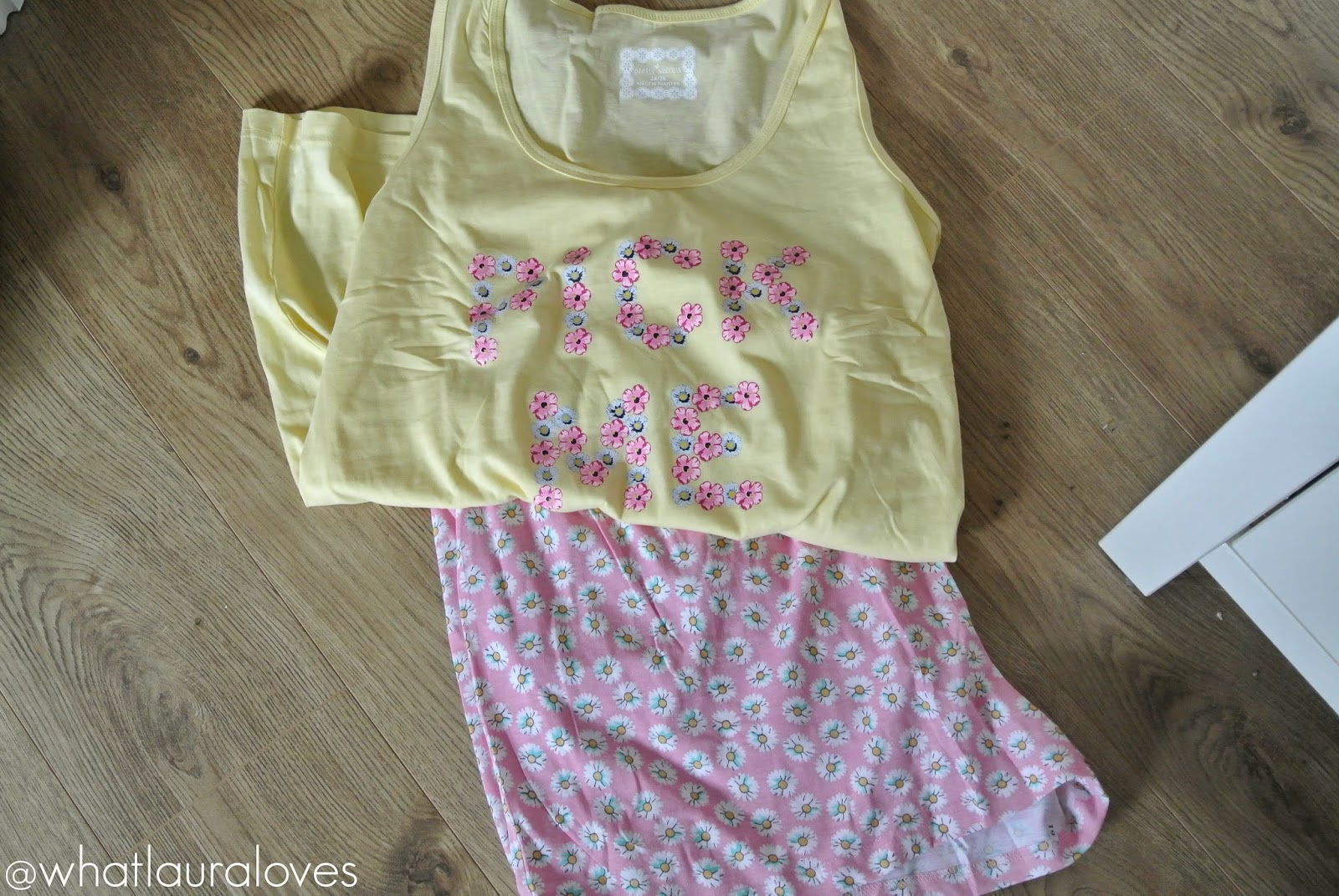 Pick Me Flower PJs from Simply Be