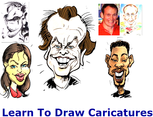 Learn To Draw Caricatures