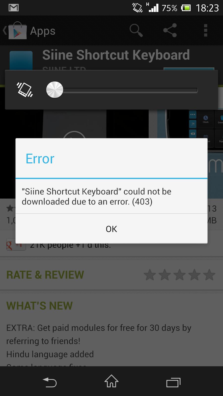 Mengatasi Kesalahan Saat Mengunduh 403 Google Play Store