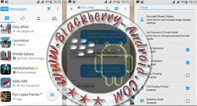 Ubdate BBM Mod Tema Mirip Iphone IOS7 Versi 2.9.0.51 Apk